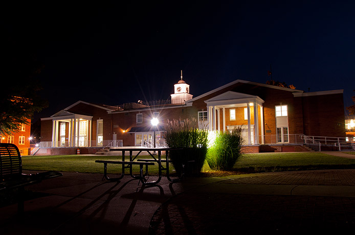 College Union at Night