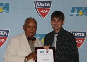 Tennis Standout Tyler McCullough '12 Honored with National Award