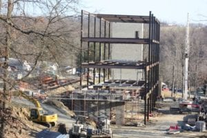 Campbell Hall construction