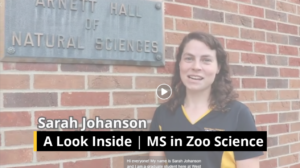 A Look Inside | MS in Zoo Science